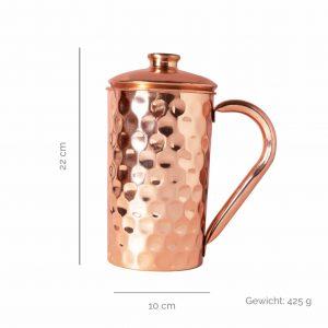 Copper jugs diamond